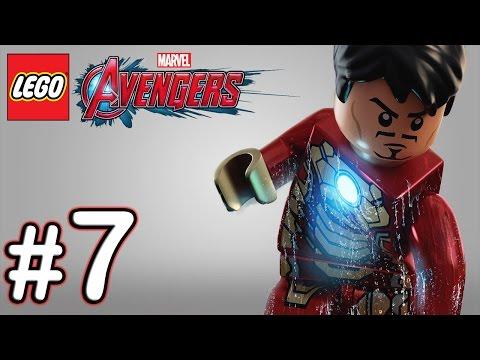 LEGO Marvel Avengers - Part 7 - Walkthrough Gameplay [True HD PS4] Assembles Ending