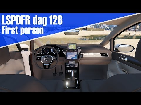 GTA 5 lspdfr dag 128 - First person ochtenddienst!