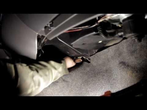 Lanos снятие радиатора печки,не снимая торпедо