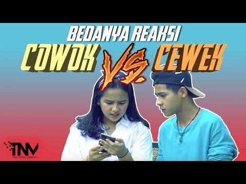 TNV X ARNOLD LEONARD X NAMIRA  | BEDANYA REAKSI COWOK VS CEWEK