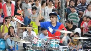 Skill Drummer cantik asal taipei