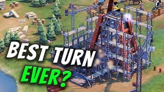 Best Turn Ever? - Civilization 6 Gathering Storm Deity Part 15