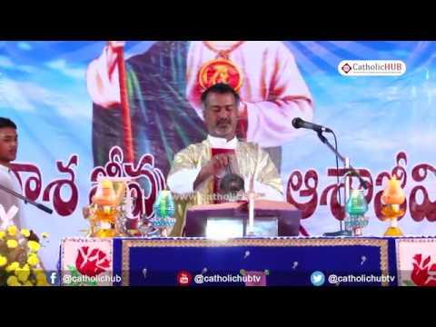 English Mass, Annual Feast of St Jude,  @ St. Jude s Shrine, Vikarabad, TS, IND. 27-10-19
