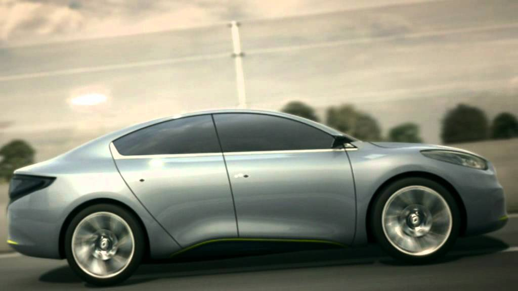 2009 Renault Fluence Ze Concept Driving Youtube