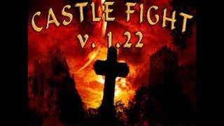 WarCraft 3 #7 Castle Fight (Учимся играть) Война городов