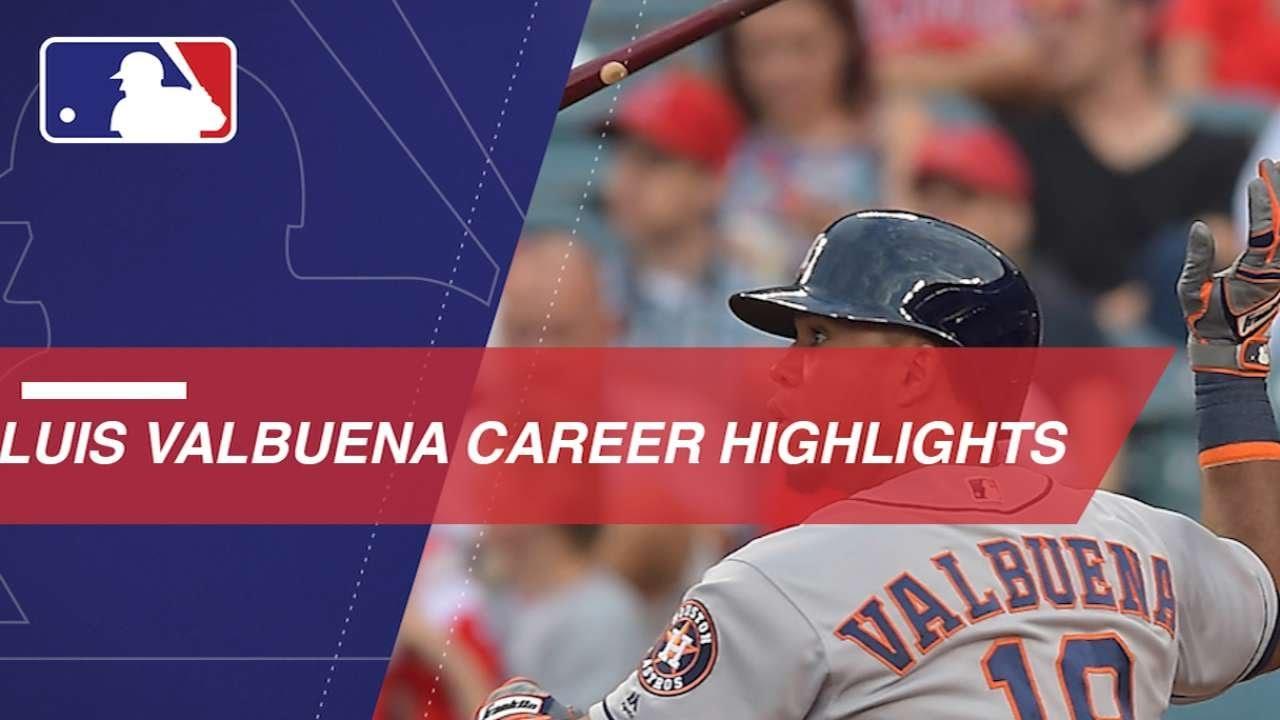 Remembering Luis Valbuena's MLB career