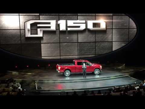 Joe Hinrichs of Ford Intros F Bronco Ranger Trucks NAIAS  --