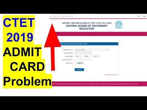 ctet-2019-admit-card-download-&-admit-card-problem..