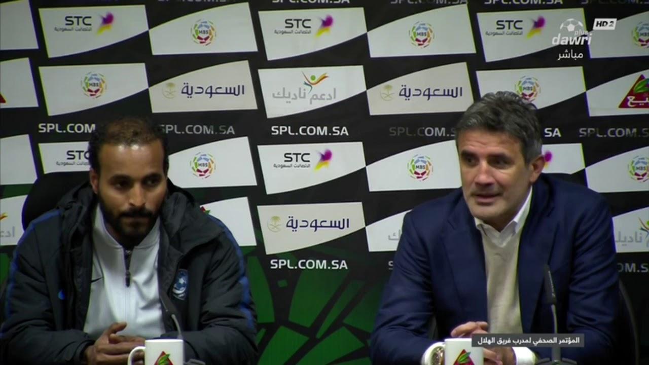 زوران ماميتش : كنّا نتعثر عندما يتعثر المنافس ، لكن هذه المرة استطعنا توسيع الفارق لـ 6 نقاط