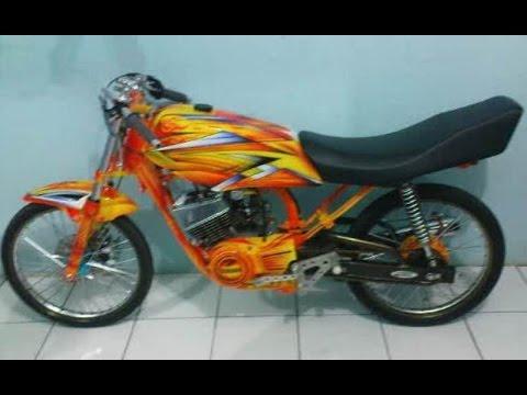 Cah Gagah Video Modifikasi Motor Yamaha Rx King Drag Keren