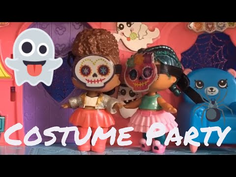 👻 LOL Surprise! | The Halloween Costume Party | Stop Motion Video 🎃