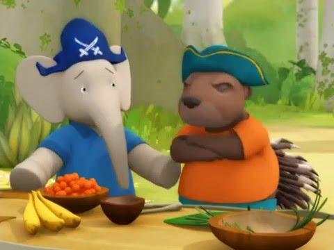 Babar and the Adventures of Badou - 11 - Jake and the Big Book / Blacktrunk's Magic Stone