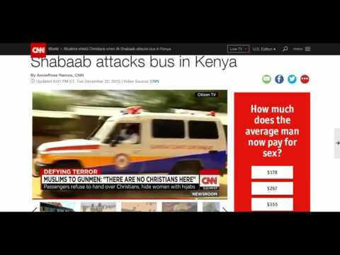 WNN Breaking Report: Kenya Terror Attack Tharwated