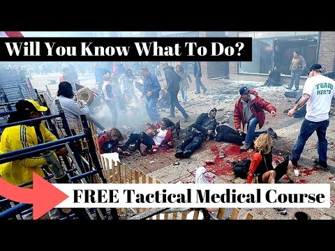Tactical Medicine - would you know what to do in a mass casualty situation?