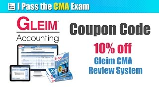 gleim cma review system walkthrough good for 2017