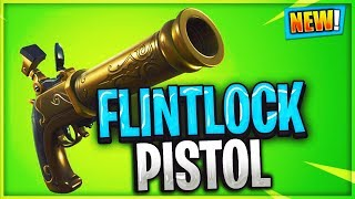 NEW Flintlock Pistol In Fortnite...