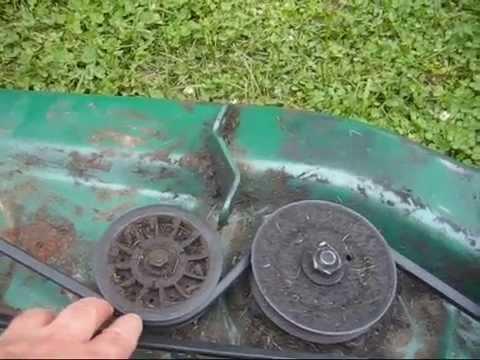 Montgomery Wards Powr Kraft Deck Belt Installed Mtd