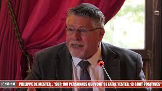"""Philippe De Mester (ARS Paca) : """"Sur 100 personnes qui vont se faire tester, 13 sont positives"""""""
