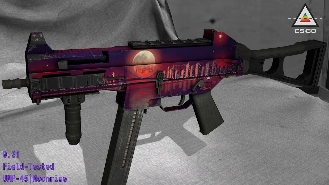 UMP-45 | Moonrise - CS:GO Stash