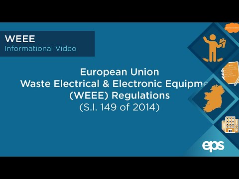 WEEE - Waste Electrical & Electronic Equipment