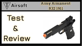 Army Armament Airsoft Pistol Review