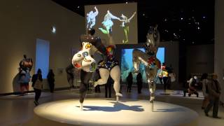 Париж. Гран Пале. Выставка Ники де Сен-Фалль | Niki de Saint Phalle au Grand Palais