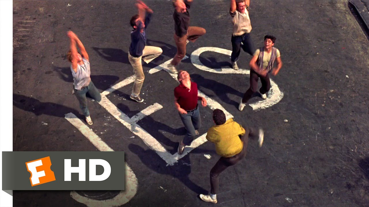 west side story movie clip the jets own the streets  west side story 1 10 movie clip the jets own the streets 1961 hd