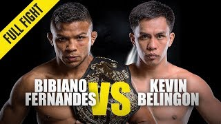 Bibiano Fernandes vs. Kevin Belingon 4 | ONE Full Fight | October 2019