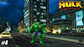 The Incredible Hulk: Ultimate Destruction - PS2 Gameplay Playthrough 1080p (PCSX2) PART 4