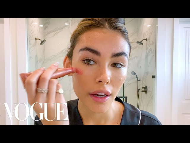 Madison Beer's Guide to Soap Brows and Easy Blush | Beauty Secrets | Vogue