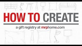 Create A Gift Registry Mrp Home Za