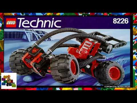 LEGO instructions - Technic - 8226 - Mud Masher