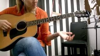 ученица Валентина разбор Nickelback - How You Remind Me