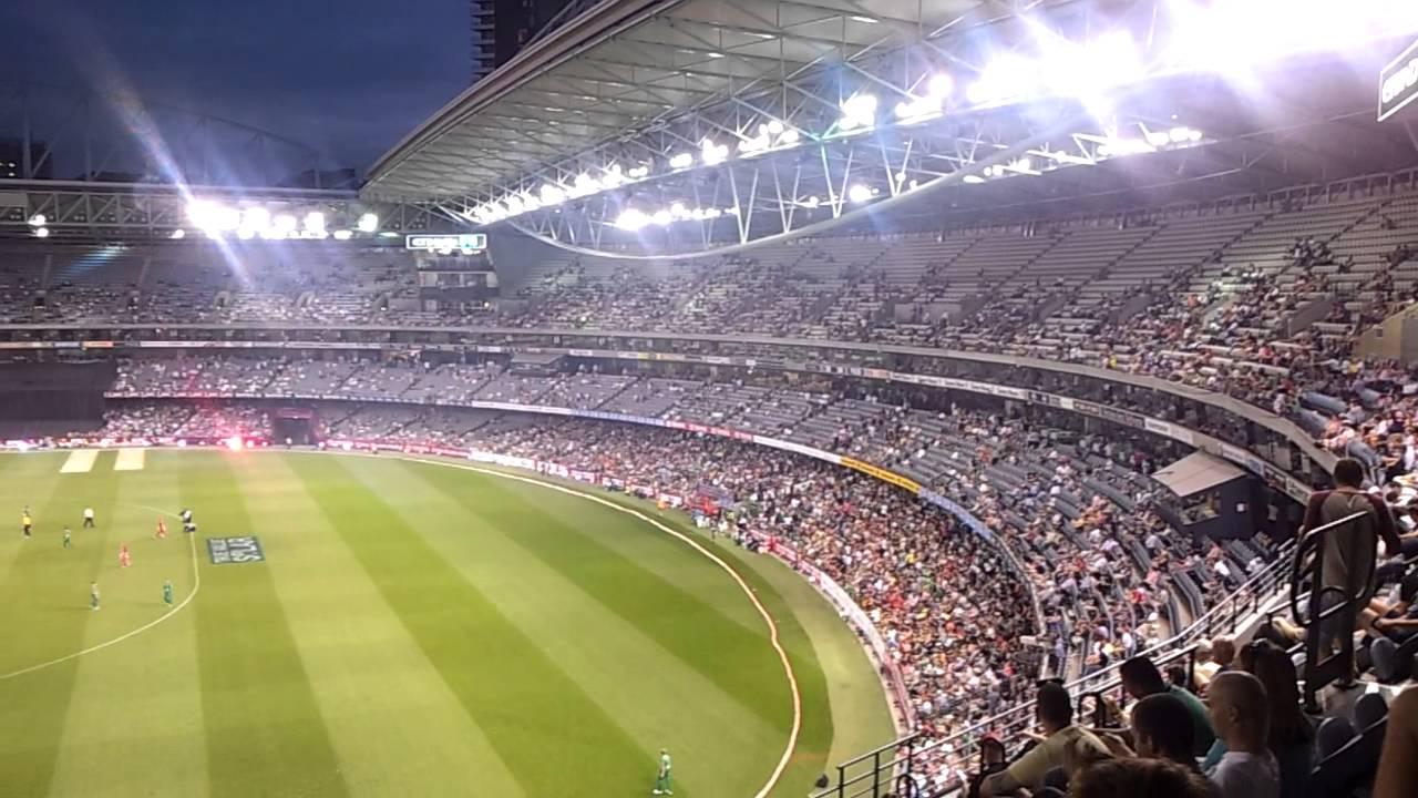 Etihad stadium view Melbourne - YouTube
