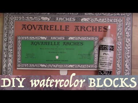 Watercolor Blocks Intro & DIY blocks