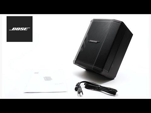 Bose S1 Pro Unboxing Setup Youtube