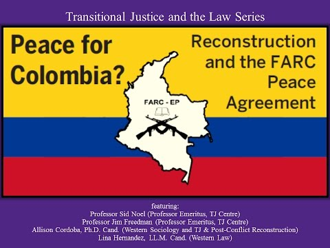 Transitional Justice and the Law - Peace for Colombia?