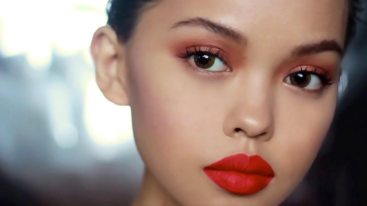 Runway Romantic Makeup Tutorial - YouTube