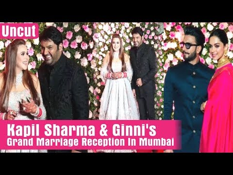 """Kapil Sharma"" & Ginni's Grand Marriage Reception In Mumbai 