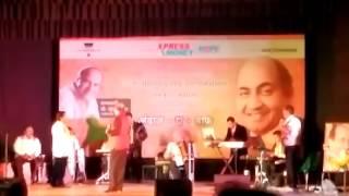 "Suresh Wadkar singing ""Aye zindagi gale laga le"" film ""Sadma"""