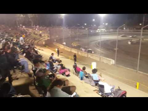 This is the last points race at the Bakersfield speedway in two weeks we have to bud Nationals