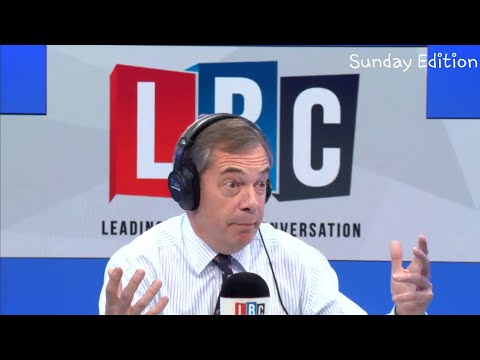 The Nigel Farage Show: Stanley Johnson discussing Brexit/Antisemitism on the rise? LBC-28th Oct 2018