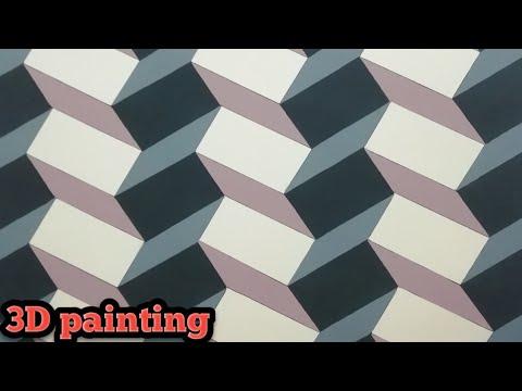 3d Wall Painting | 3d Wall Decoration Effect | 3d Wall Texture Design | Interior Design Ideas