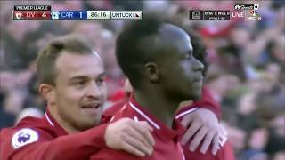 LIVERPOOL VS CARDIFF CITY 4-1 HIGHLIGHTS AND GOAL