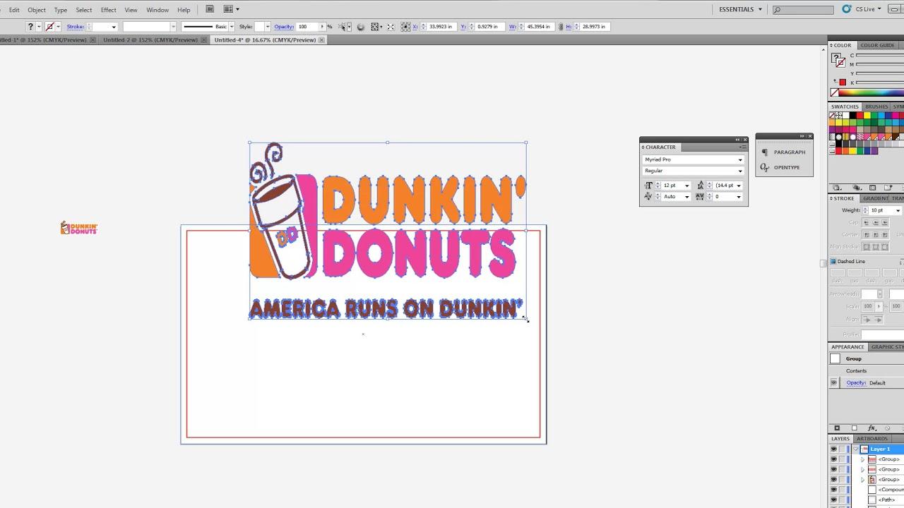 How to design a 3x5 Custom Flag in Adobe Illustrator - Beginners ...