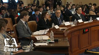 Impeachment hearing: Legal scholars testify Trump's actions meet impeachment standard