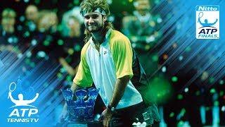 Edberg vs Agassi: ATP Finals 1990 Final Highlights