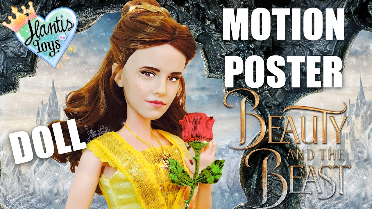 Disney Live Action Beauty and the Beast Official Magazine of Poster Collection