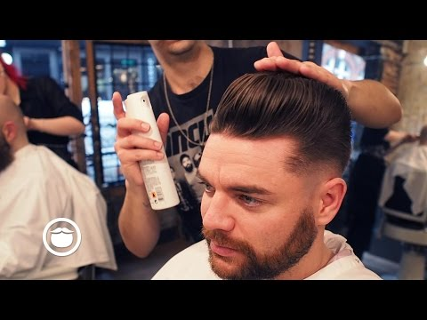 Skinfade Pompadour For a Corporate Look | Cut and Grind