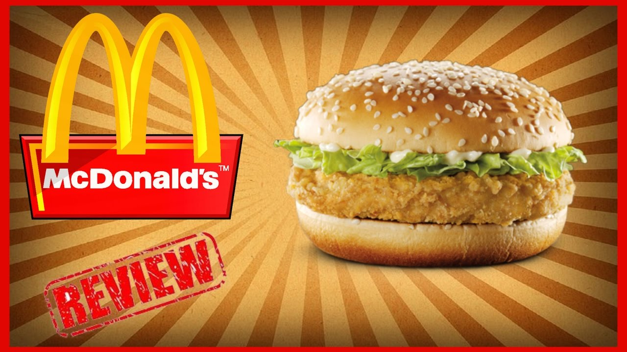 mcdonald mcchicken sandwich review